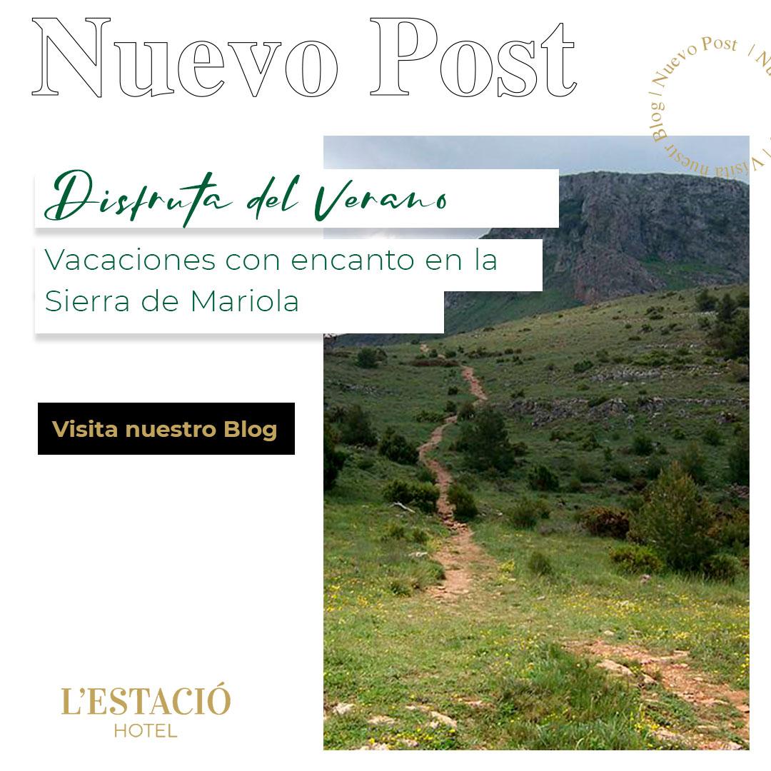 Vacaciones con encanto en la Sierra de Mariola