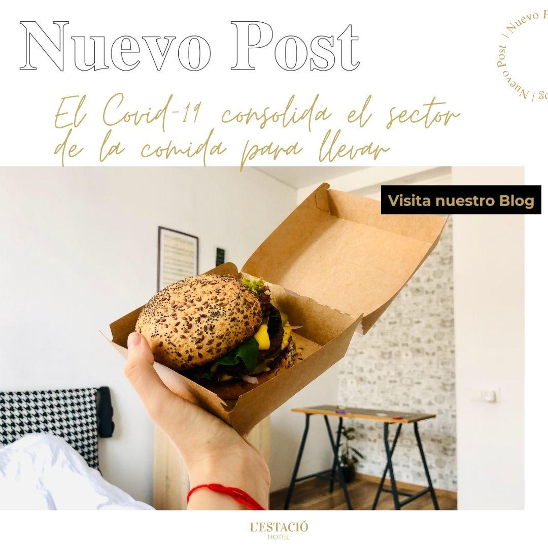 El Covid-19 consolida el sector de la comida para llevar